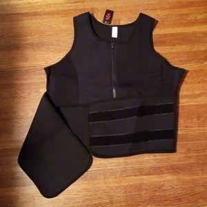 Sweat Vest & Waist Cincher